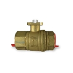 WaterCop Ready Replacement Lead Free Brass Ball Valve Only (no actuator)
