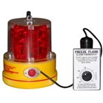 FreezeFlash Low Temperature Warning Light