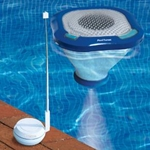 Swimline PoolTunes Floating Pool Speaker and Transmitter