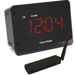SleuthGear C1240 Digital Alarm Clock with USB Reciever & Remote View