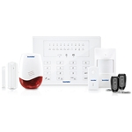 SecurityMan Air-AlarmII Wireless Home Alarm System with Doorbell