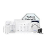 Securityman Air-AlarmIIDL Deluxe Kit of D.I.Y Wireless Smart Home Alarm System, including 1xcontrol panel, 2xPIR