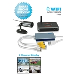Securityman iCamDVR1W Wireless Camera System w/ 1 Weatherproof Cam