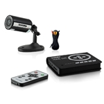 Securityman HomeDVR-KT One Outdoor/Indoor Wired Camera System Kit - Night Vision & SD DVR