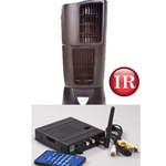 KJB Security C1568 Night Owl Oscillating Fan QUAD