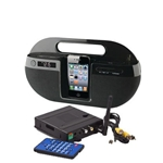 KJB Security SleuthGear Zone Shield Wireless Kit w/ IPOD DOCK Cam