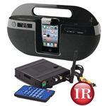 KJB Security SleuthGear Zone Shield Wireless Kit w/ Night Vision IPOD DOCK Cam