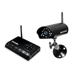 SecurityMan Digital Wireless Outdoor/Indoor Camera Record System (SD) Kit w/Night Vision & Audio