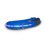 Visiglo Nylon Collar w/ LED lights- Blue