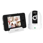 Lorex LW2451 LIVE Sense Pan tilt baby camera with monitor