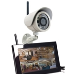 KJB Security SleuthGear Zone Shield Wireless Kit w/ Outdoor Camera