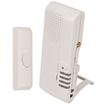 Safety Technology Wireless Alert Series STI-V34600 Wireless Doorbell Button Alert w/Voice Receiver