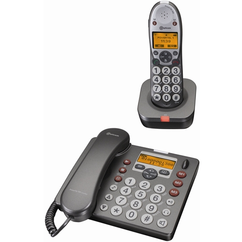 Amplicom  PowerTel 580 amplified phone with built-in answering machine