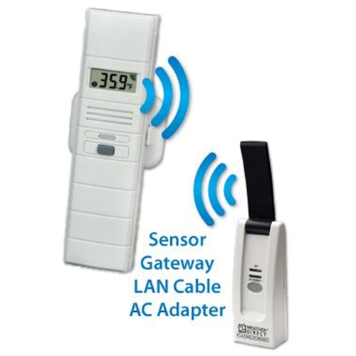 Wireless temp and humidity sensor by LaCrosse Technology