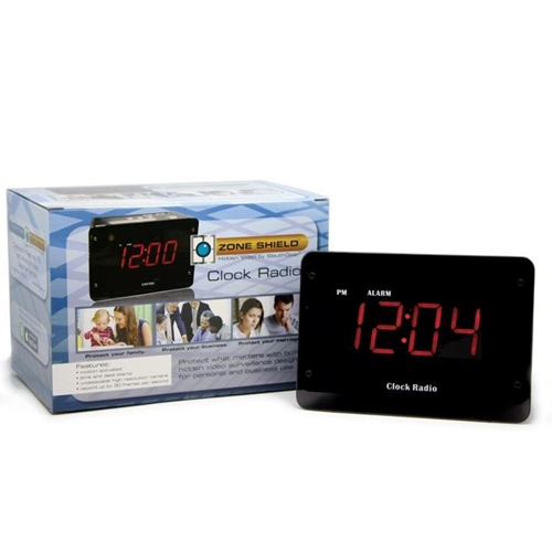 KJB Nightowl IR Clock Radio Camera