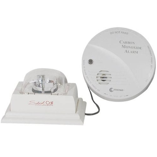 Silent Call Carbon Monoxide Detector with Strobe Light is for the hearing impaired