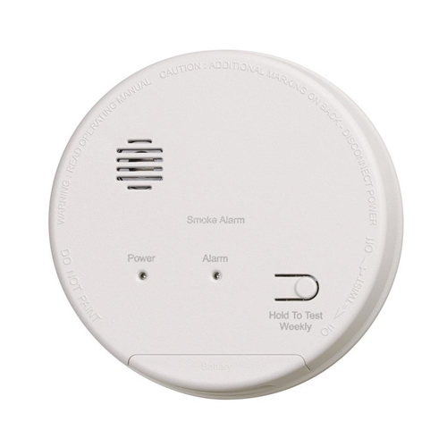 Gentex S1209f Smoke Detector With Built In Relay Battery Backup