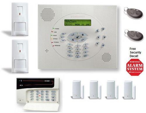 Rokonet WisDom Wireless Security System BONUS Kit w/Keypad