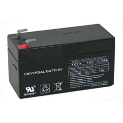 12VDC Battery for Universal AGM, WisDom GSM Module, and ProSound