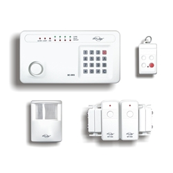 The Skylink Deluxe Kit is a DIY wireless security system that is easy to install and ready to use.
