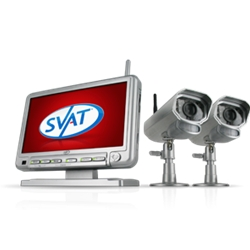 SVAT Digital Wireless DVR Security System GX301-011