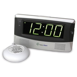 Sonic Alert Sonic Boom SB300ss Alarm Clock with Bed Vibrator