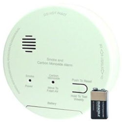 Gentex GN-503F Hard Wired Combination Smoke & Carbon Monoxide Alarm with Backup