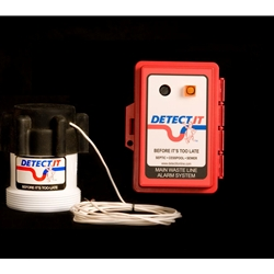 Detectit Hardwired Wastewater Backup Alarm Kit