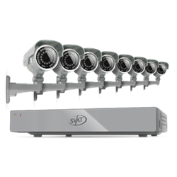 SVAT 8 camera video surveillance kit