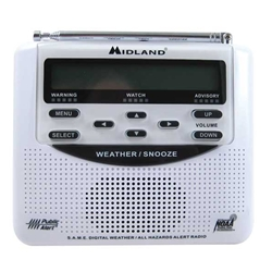 Silent Call Weather Alert Radio