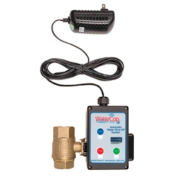 DynaQuip Controls ZWACT Z-Wave WaterCop Emergency Water Shutoff Valve