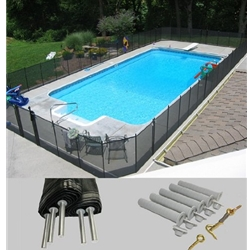 LIFE SAVER SYSTEMS Pool Fence