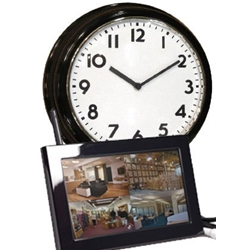 Hidden Camera Wall Clock and Receiver