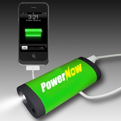 Portable Smartphone Charger with Flashlight