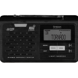 Oregon Scientific WR608 Desktop Weather Alert Radio