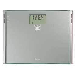"The Biggest Loser 75444BL Cal Max Scale has a wide platform and large 2.2"" LCD display"