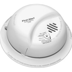 BRK Electronics Hard Wired T4 Carbon Monoxide Alarm with Backup is interconnectable