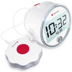 Bellman Alarm Clock Pro Vibrating Clock with LED
