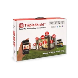 Oplink Security TripleShield Wireless System, IP cam and security system, text alerts