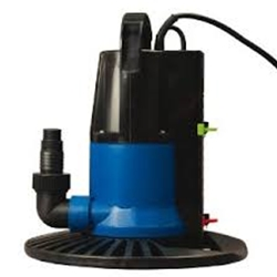 The Dredger In-ground 1250GPH Cover Pump Auto On/Off & Base