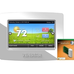 Venstar ColorTouch Humidity Control Thermostat w/ Wifi option