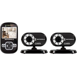 Motorola Digital Wireless Indoor Pet Monitor and 2 Cameras- SCOUT500-2