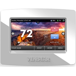New Venstar ColorTouch Thermostat with Wifi Option!