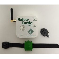 Safety Turtle 2.0 Child Immersion Pool/Water Alarm Kit