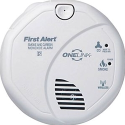 First Alert OneLink SCO501CN-3ST Battery Operated Carbon Monoxide and Smoke Alarm