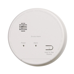 Gentex S1209F Smoke Detector with Built-In Relay & Battery Backup
