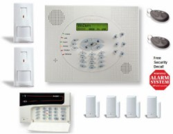 The Wisdom Wireless security system can be expanded to monitor for smoke, floods, breaking glass, motion and other conditions