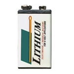 Z9VLITH 9 VDC Long Life Lithium Battery