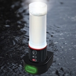 Datexx LED-77  AAA Waterproof Light and Beacon Flare w/ Magnetic Base and Bike Mount