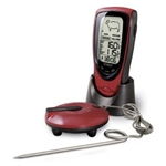 Oregon Scientific AW131 Grill Right Wireless Talking BBQ/Oven Thermometer w/ Alarm